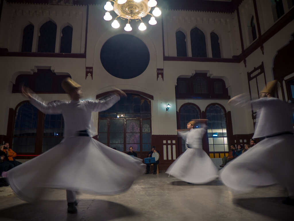 Dervishes at Sirkeci, 2014