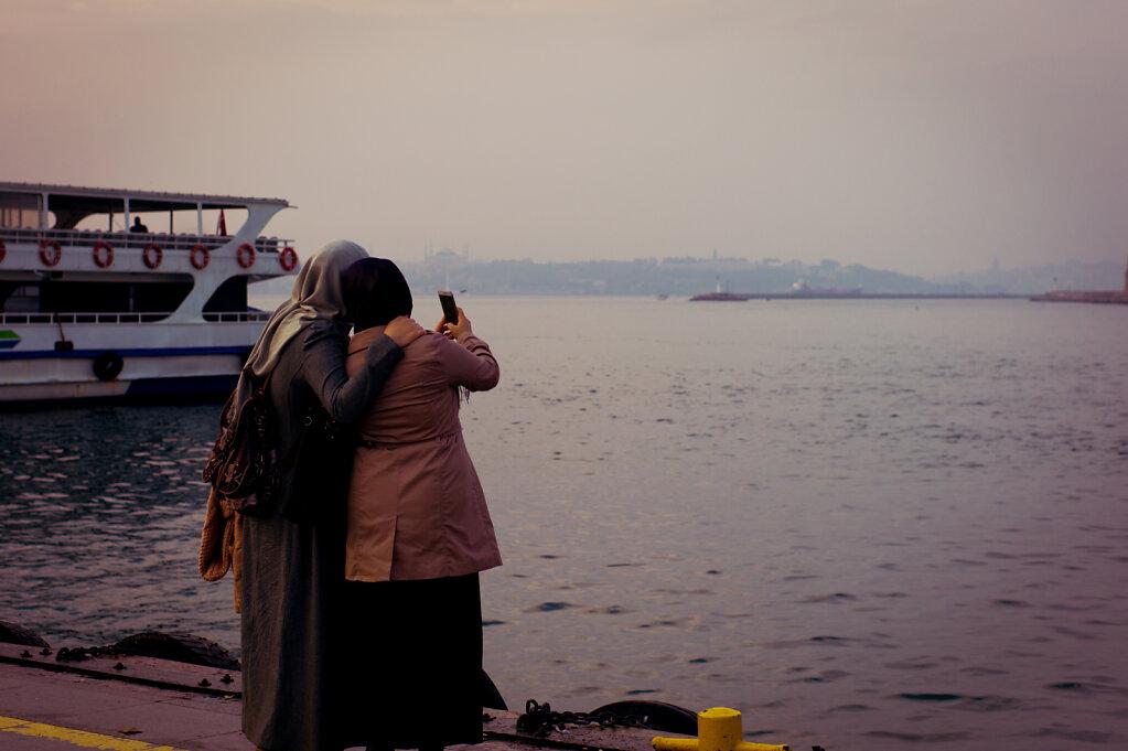 Selfie on the docks, 2016